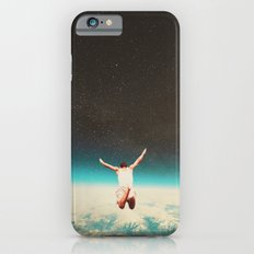 Falling with a hidden smile iPhone 6 Slim Case