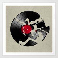 music Art Prints featuring music  by mark ashkenazi