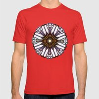Gate Star Mens Fitted Tee Red SMALL