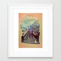 La Vie Framed Art Print