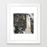 Under the Bay Bridge  Framed Art Print