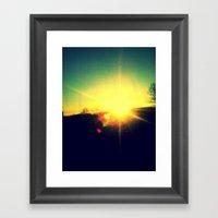 Kryon Of Light Framed Art Print