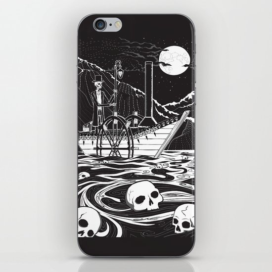 Steamboat across the Styx iPhone & iPod Skin