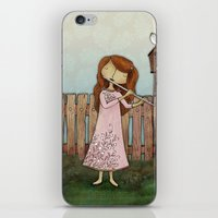 Lucy Plays a Song of a New Birth iPhone & iPod Skin