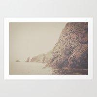 Rustic Ocean Art Print