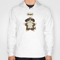 Hoody featuring Star Dog by Inque