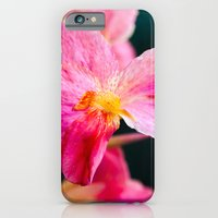 iPhone & iPod Case featuring Red Flowers by -en-light-art-