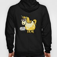 Overweight Unicorn Hoody