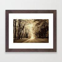 Secret Location  Framed Art Print