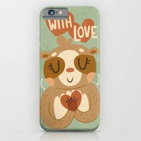 With Love From A Sloth iPhone 6 Slim Case