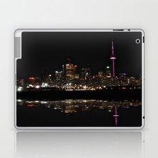 city at night Laptop & iPad Skin