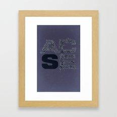 ACSE Framed Art Print