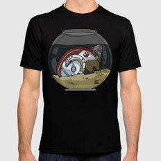 Snail Slimes the Rebel Alliance Mens Fitted Tee Black SMALL