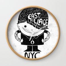 NYC Club Kid 2012 Wall Clock
