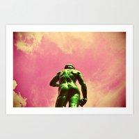 El Hulk David? Art Print