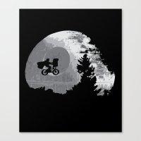 ET Wars Canvas Print