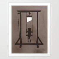 Swing Blade Art Print