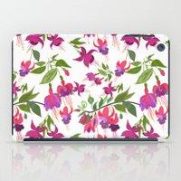April Blooms IV - Fuchsi… iPad Case