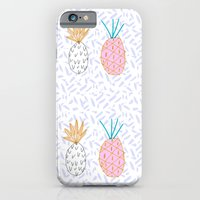 Pineapple. Illustration, print, pattern, fruit, design, fun, iPhone 6 Slim Case