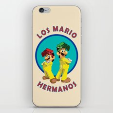 Los Mario Hermanos iPhone & iPod Skin