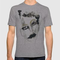 Confusion Mens Fitted Tee Athletic Grey SMALL