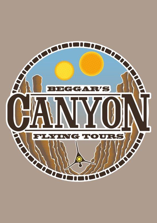 Beggar's Canyon Tours Art Print