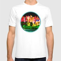 City Lights In Christmas… Mens Fitted Tee White SMALL