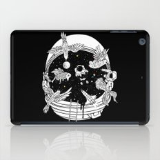 Depth of Discovery (A Case of Constant Curiosity-B/W) iPad Case