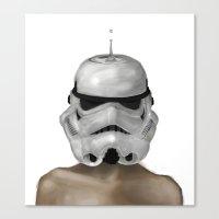 Droptrooper Canvas Print