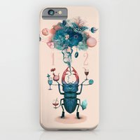 iPhone & iPod Case featuring funny beetle by Tanya_tk