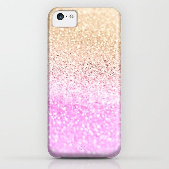 GOLD PINK GLITTER by Monika Strigel iPhone & iPod Case