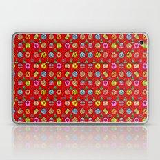 Popart Christmas by Nico Bielow Laptop & iPad Skin