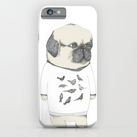 kinotto pug iPhone & iPod Case