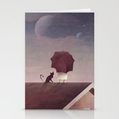Twin Moon Stationery Cards