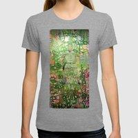 Meditation Womens Fitted Tee Tri-Grey SMALL