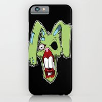 iPhone & iPod Case featuring Zombie easter bunny 1 by Andrew Mark Hunter