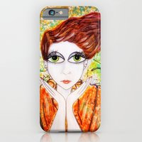 iPhone & iPod Case featuring Tangerine Dream by Laura George