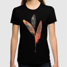Plumis Womens Fitted Tee Black SMALL