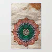 Spirography Canvas Print