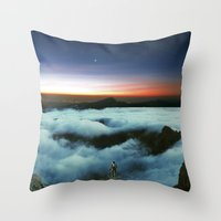 Horizons Throw Pillow
