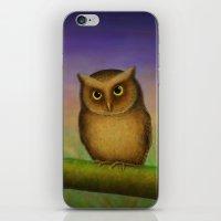 Mountain Scops Owl iPhone & iPod Skin