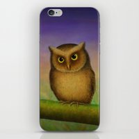 Mountain Scops Owl iPhone & iPod Skin