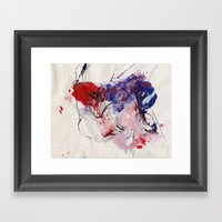 Digital Color  Framed Art Print