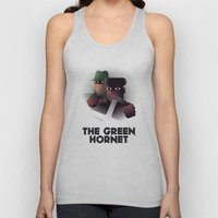 Cassandre Spirit - The green hornet Unisex Tank Top