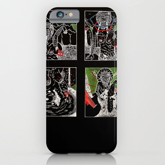 SARAH TONIN AND THE ITCH iPhone & iPod Case