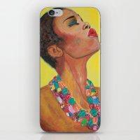 Sun Girl iPhone & iPod Skin