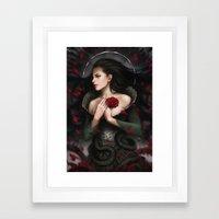By Mistake Or Design Framed Art Print