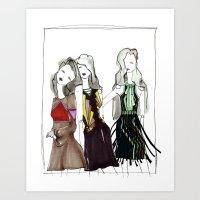 Mint Tech. Art Print