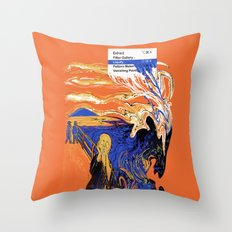 The Liquify Throw Pillow