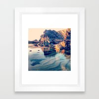 Crystal Clear, Beautiful Air Framed Art Print